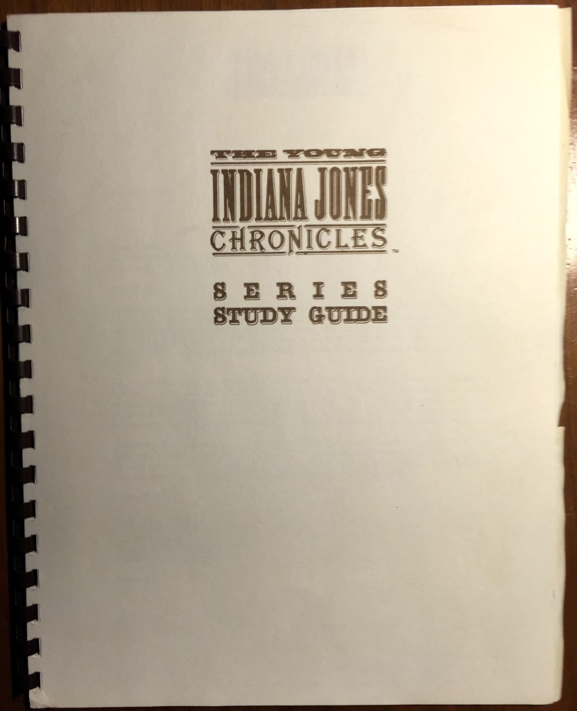 The Young Indiana Jones Chronicles Study Guide